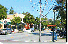 street view of Saratoga, CA